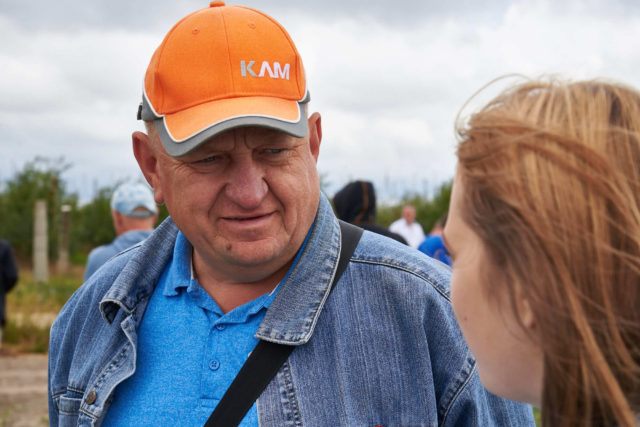 фермер Гродненского района Иван Васин